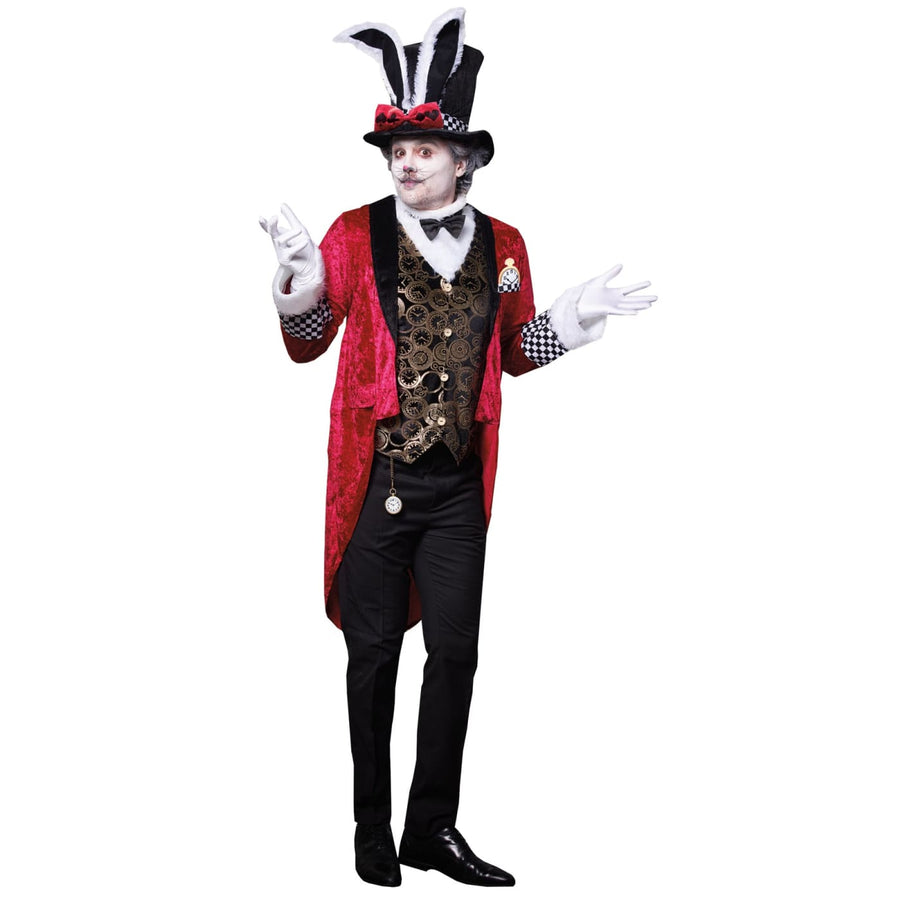 White Rabbit Adult Costume Xlarge - adult halloween costumes halloween costumes