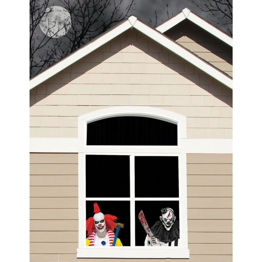 Wicked Windows Clowns - clown costumes Halloween costumes New Costume Serial