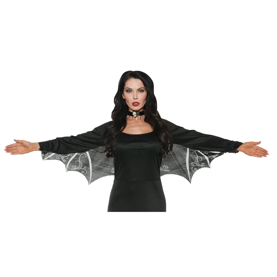 Wings Bat Lace - Halloween costumes Robes Capes & Wings