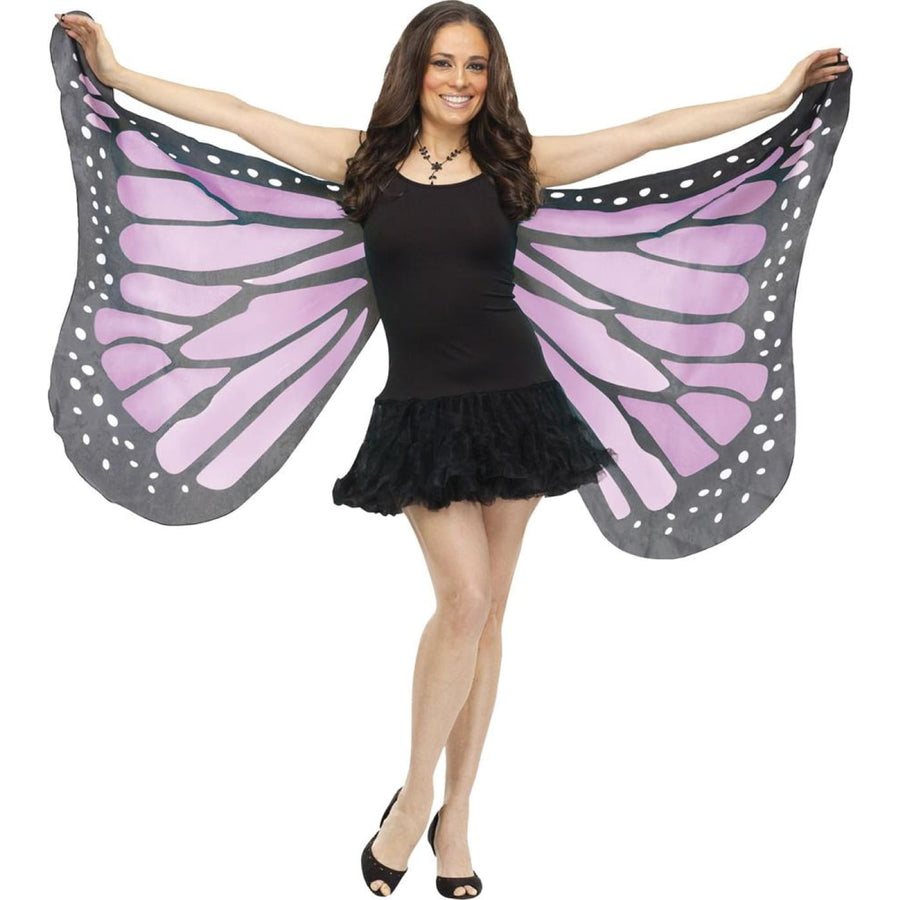 Wings Butterfly Soft Adult Costume Orchid - Angel & Fairy Costume Animal &
