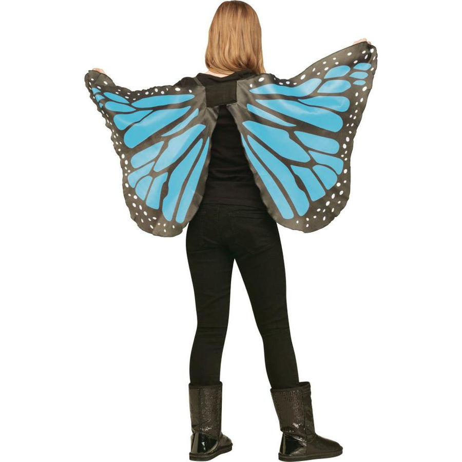 Wings Butterfly Soft Kids Size Blue - New Costume