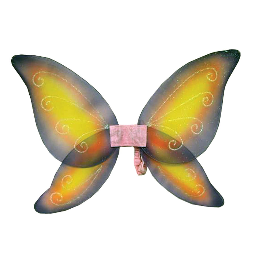 Wings Child Fairy Pink Yellow - Angel & Fairy Costume Halloween costumes Holiday