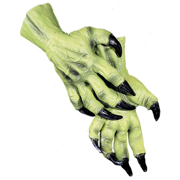 Witch Hands - Halloween costumes Hands Feet & Chest witch costume
