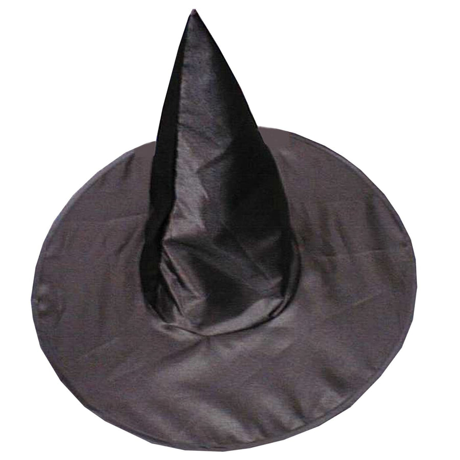 Witch Hat Deluxe Satin - Halloween costumes Hats Tiaras & Headgear Witch &