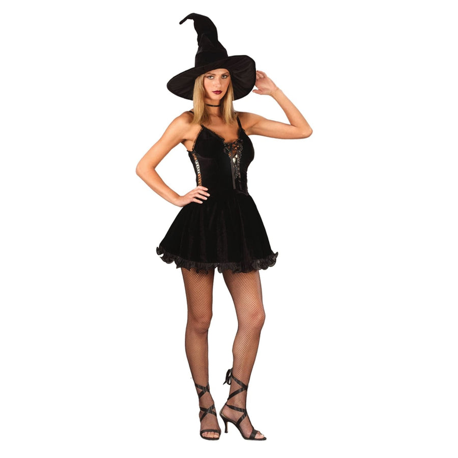 Witch Sexy Md Large - adult halloween costumes female Halloween costumes