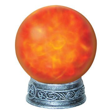 Witches Magic Light Orb-Red - Decorations & Props haunted house decorations