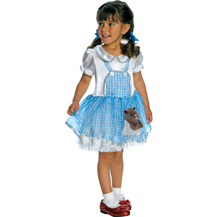 Wiz Of Oz Dorothy Toddler Costume 2T-4T - Fairytale Costume Halloween costumes