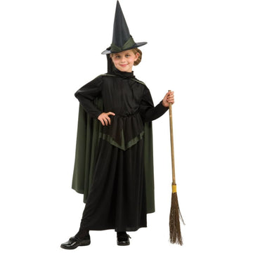 Wiz Of Oz Wicked Witch Kids Costume Sm - Girls Costumes girls Halloween costume