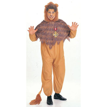 Wizard Of Oz Cowardly Lion Adult - adult halloween costumes Animal & Insect