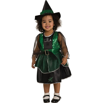 Wizard Of Oz Wicked Witch Toddler Costume 2T-4T - Toddler Costumes Witch &