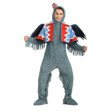 Wizard Of Oz Winged Monkey Adult Costume - adult halloween costumes Animal &