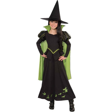 Wizard Oz - Wicked Witch Kids Costume Large 12-14 - Girls Costumes girls