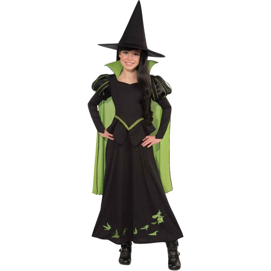 Wizard Oz - Wicked Witch Kids Costume Medium 8-10 - Girls Costumes girls