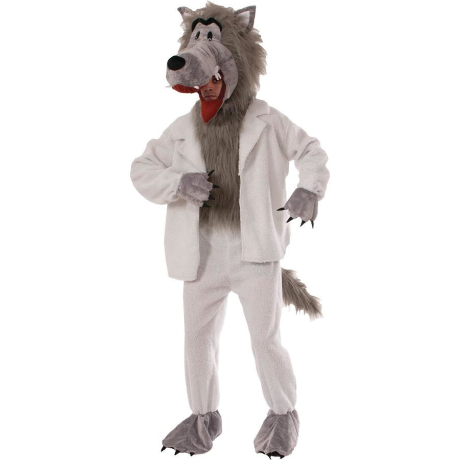 Wolf In Sheeps Clothing Adult Costume - Costume Makeup Ghoul Skeleton & Zombie