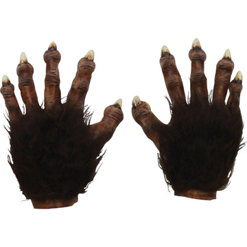 Wolf Latex Hands Deluxe - Animal & Insect Costume Halloween costumes Hands Feet