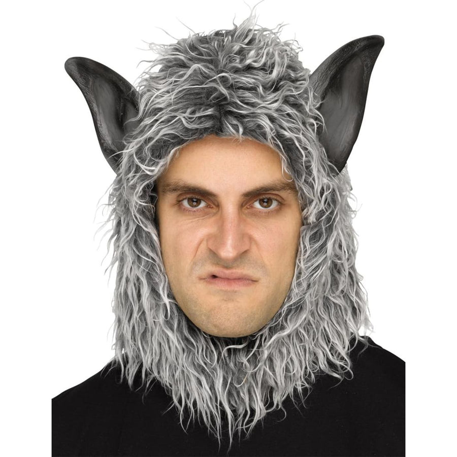 Wolf Man Or Beast Mask Grey - Ghoul Skeleton & Zombie Costume Halloween costumes