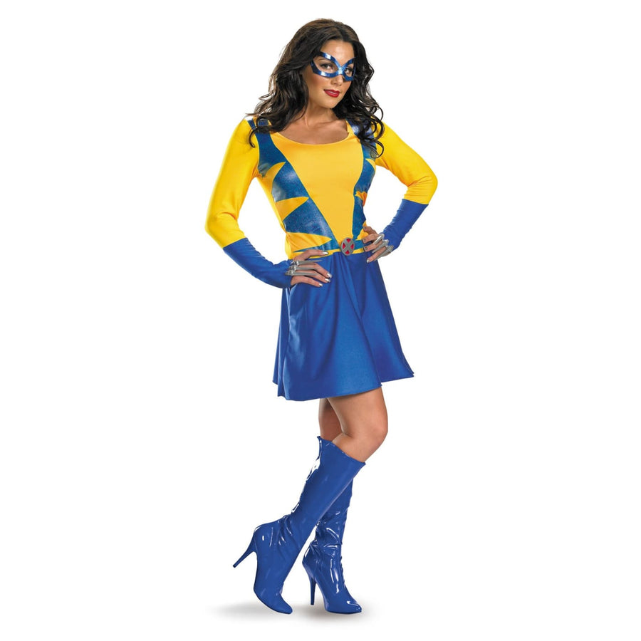 Wolverine Female Classic 8-10 - adult halloween costumes female Halloween