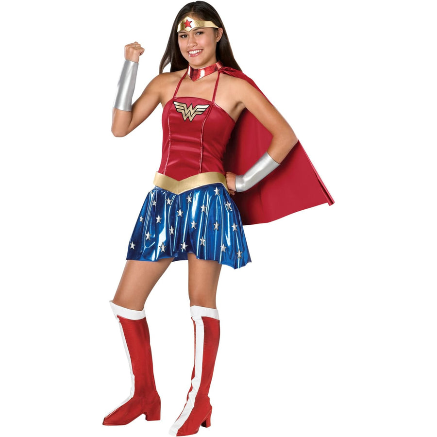 Wonder Woman Sexy Teen - adult halloween costumes female Halloween costumes