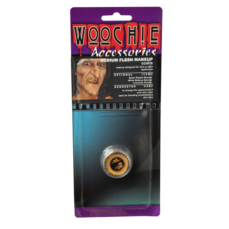 Woochie Med Flesh Undead Cream Makeup - Costume Makeup Halloween costumes