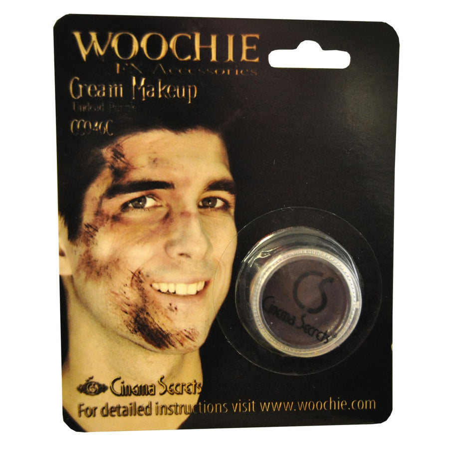 Woochie Purple Undead Cream Makeup - Costume Makeup Halloween costumes Halloween