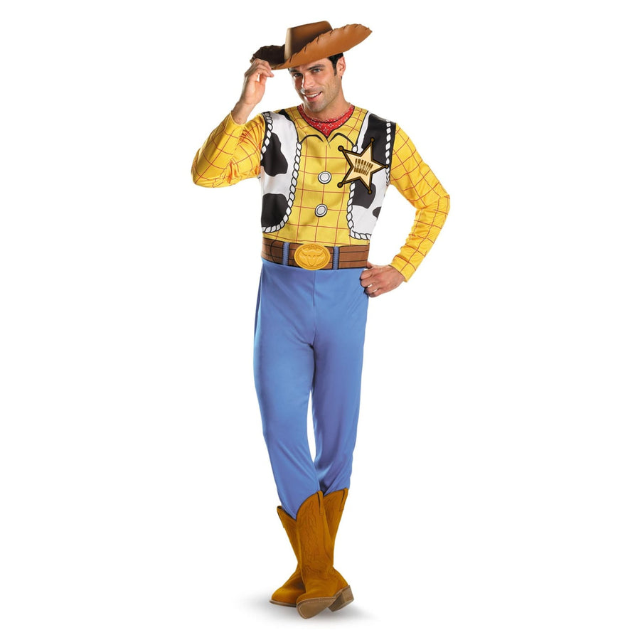 Woody Adult Classic 50-52 - adult halloween costumes Buzz Lightyear Costume