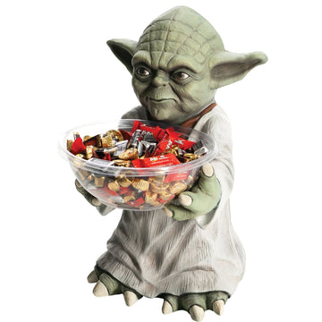 Yoda Candy Bowl Holder - Decorations & Props Halloween costumes haunted house
