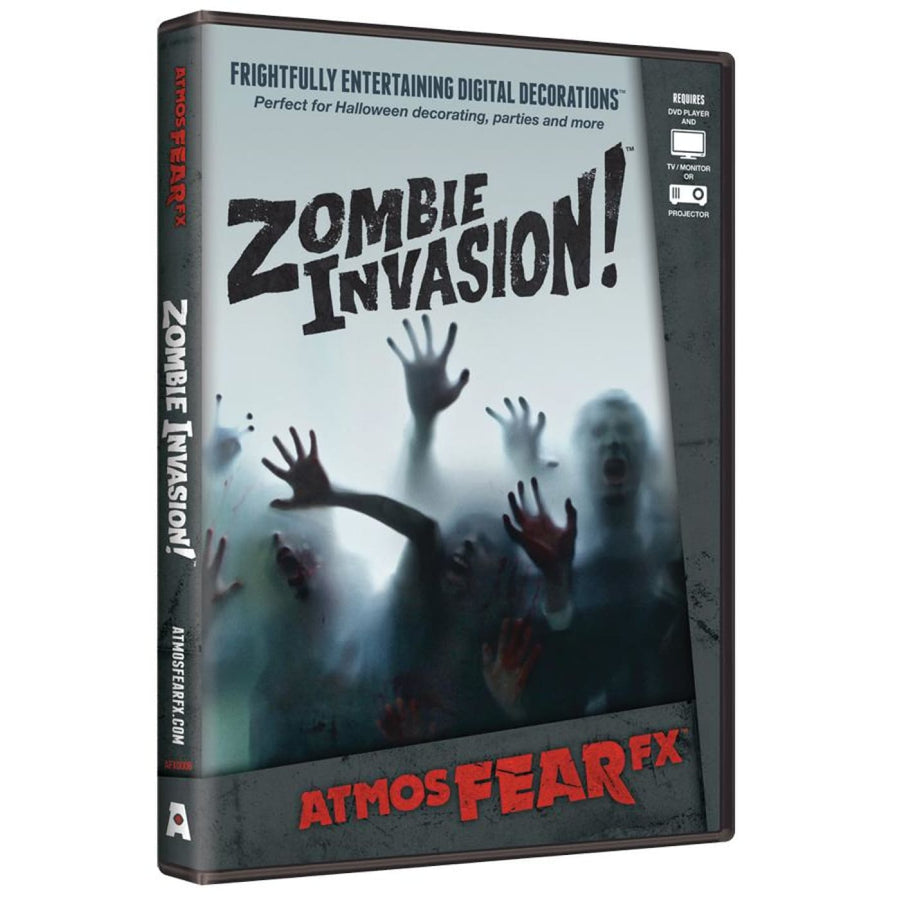 Zombie Atmosfearfx DVD - Halloween costumes Videos Books & Audio
