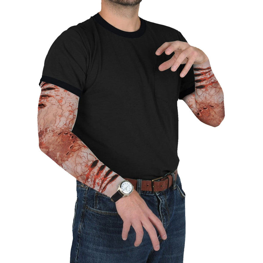 Zombie Bite Party Sleeves - Glasses Gloves & Neckwear Halloween costumes