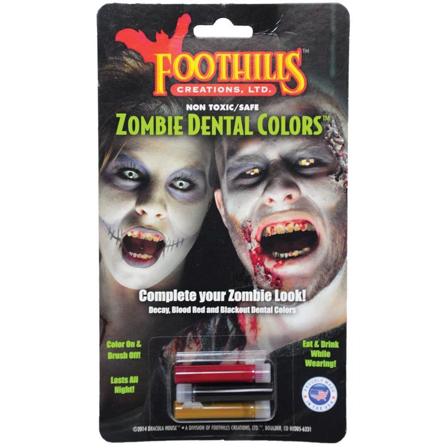 Zombie Dental Color - Costume Makeup New Costume