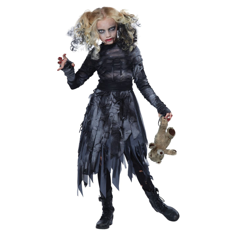 Zombie Girl Kids Costume XLarge 12-14 - Girls Costumes Halloween costumes