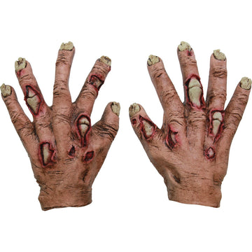 Zombie Junior Flesh Hands - Ghoul Skeleton & Zombie Costume Halloween costumes