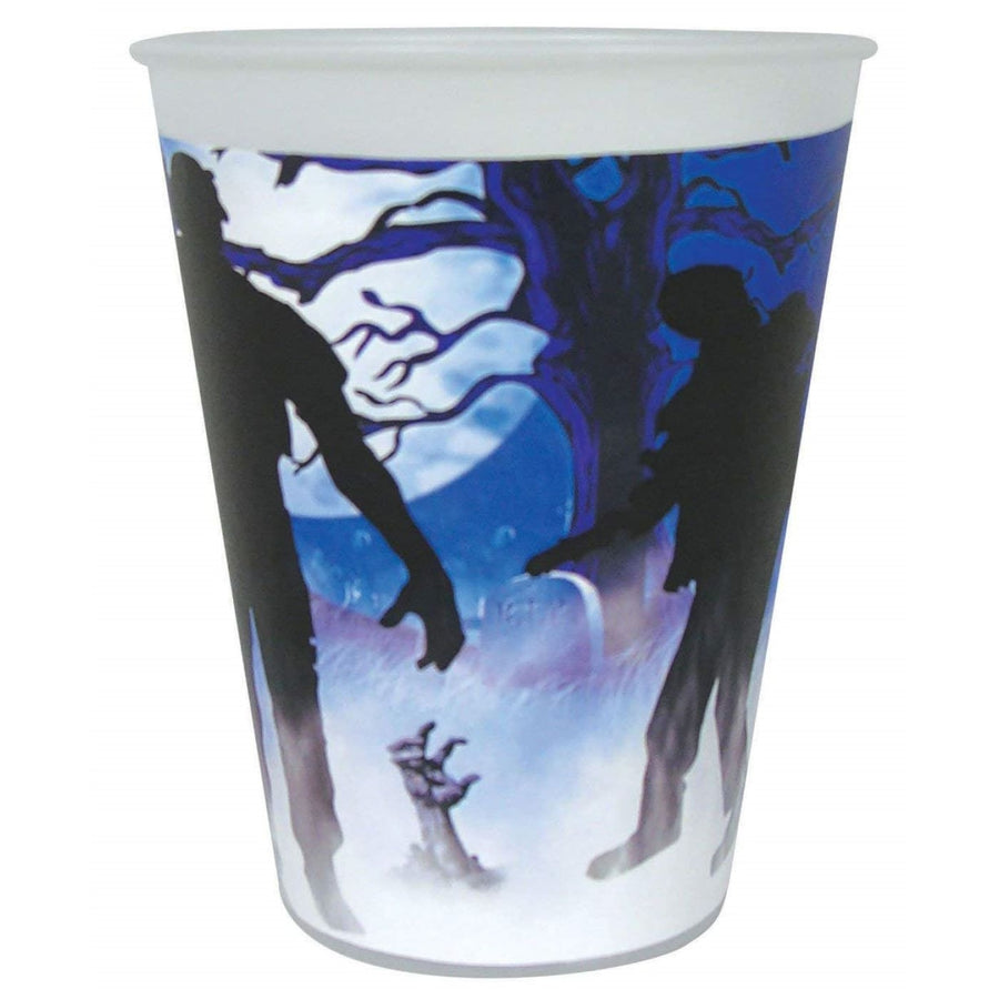Zombie Party 9 Oz Cups -Set of 8 - Halloween costumes New Costume
