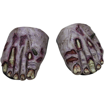 Zombie Undead Feet Cover - Ghoul Skeleton & Zombie Costume Halloween costumes