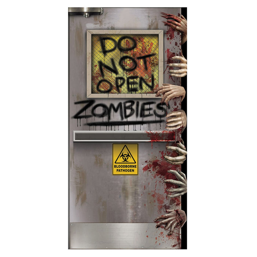 Zombies Lab Door Cover - Decorations & Props Halloween costumes haunted house