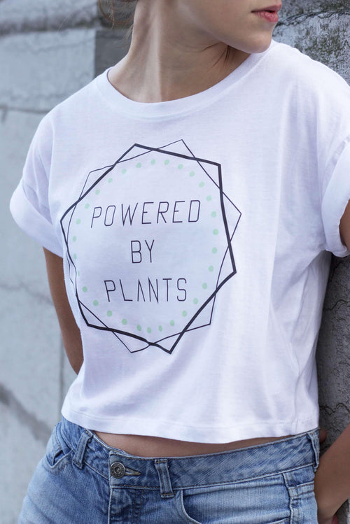 Powered By Plants • Crop Top
