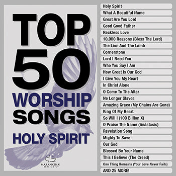 Top 50 Worship Songs - Holy Spirit 3CD  February 19 Release - KI Gifts Christian Supplies