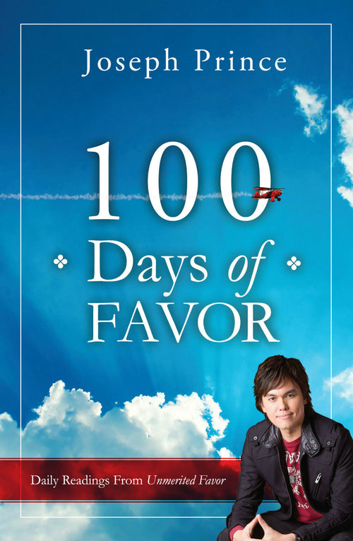 100 Days of Favor PB : Joseph Prince - KI Gifts Christian Supplies