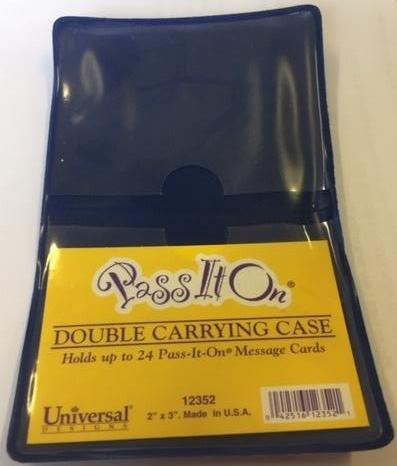 Pass It On Double Carrying Case