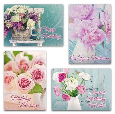 Boxed Card - Birthday, Fragrant Bouquets