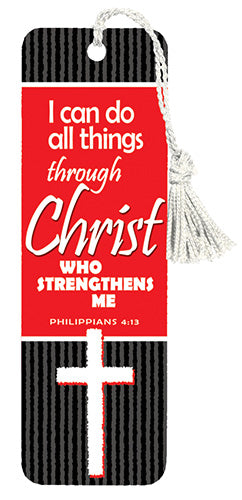 I Can Do All Things Through Christ Who Strengthens Me - Versemark - KI Gifts Christian Supplies