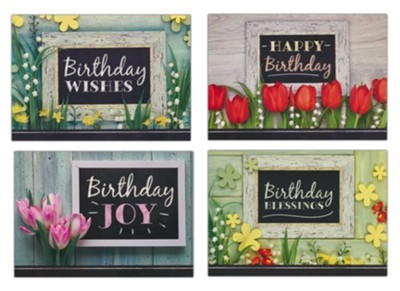 Boxed Card - Birthday Joy