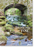 Thinking of You: Stream under stone bridge (order in 6)
