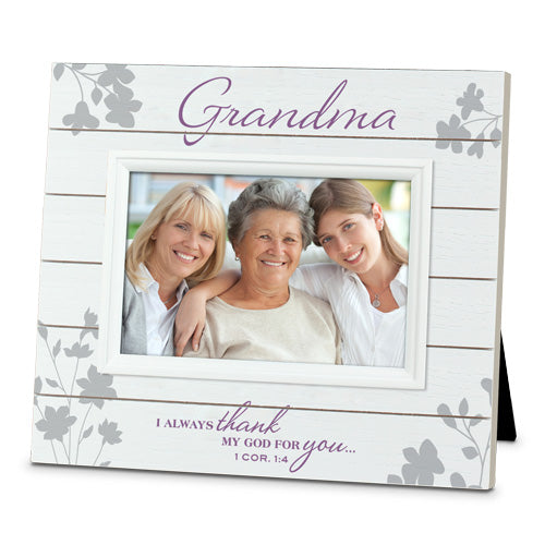 Slat Wood Series Photo Frame - Grandma - KI Gifts Christian Supplies