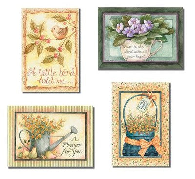 Praying For You - Floral (12 Boxed Cards)