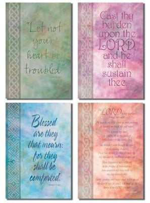 Sympathy Card Assortment: Calligraphy - KI Gifts Christian Supplies