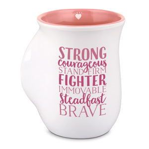 Inspirational Heroes Mug: Strong and Courageous