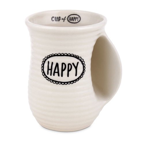 Scripture Ink Mug: Happy - KI Gifts Christian Supplies