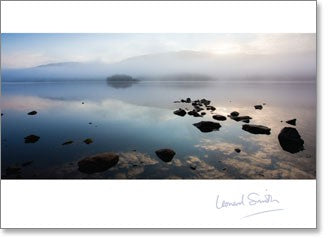Blank Dawn Mist Coniston Water CR - KI Gifts Christian Supplies