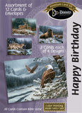 Birthday For Him - Animals in the Wild (12 Boxed Cards)