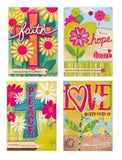 Thinking of You, Watercolor Garden (12 Boxed Cards)